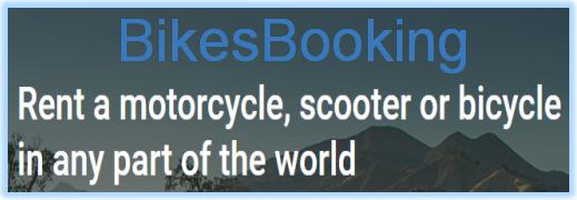BikesBooking.com – сервис онлайн бронирования мотоциклов, скутеров, квадроциклов и велосипедов по всему миру.